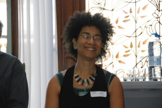 Salomé Mulongo, CLéA et animatrice de la table ronde
