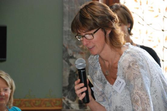 Laurence Ortegat, coordinatrice CLéA