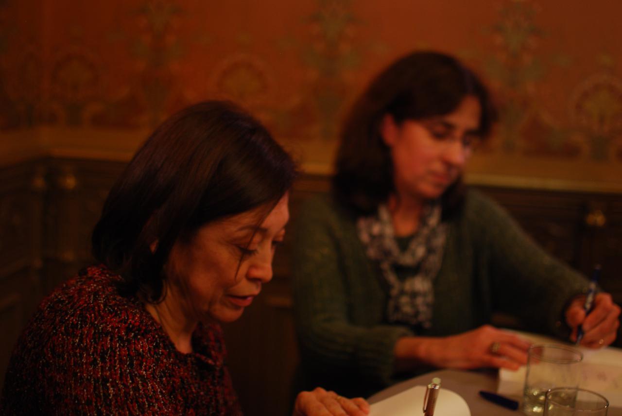Maria Prieto et Ariane Le Fort