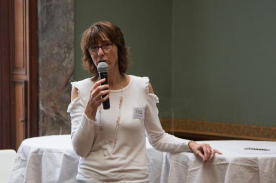Laurence Ortegat - coordinatrice de CLéA