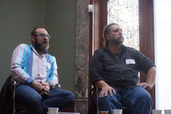 1ère rencontre - Serge Birenbaum (SACD) et David Giannoni (Maelstrom)