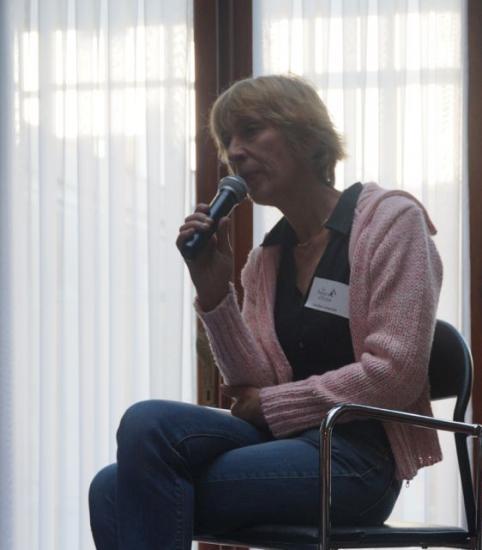 1ère rencontre - Caroline Lamarche, autrice