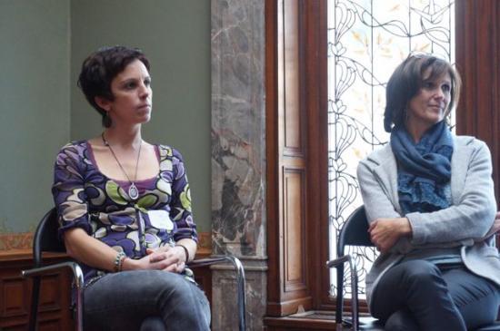 2e rencontre - Cindy Latouche et Patricia Hespel