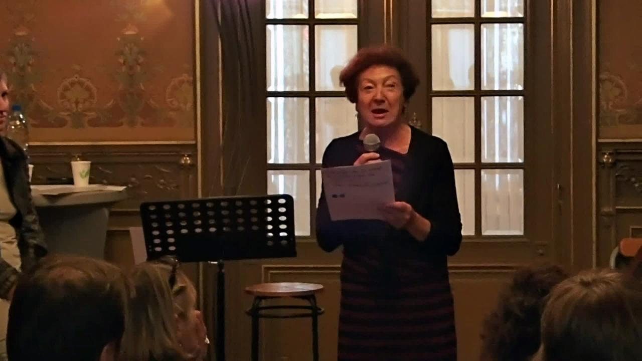 Lecture Marie-Ange Mahy