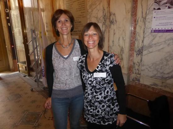 Patricia Hespel et Marie-Astrid Roba, équipe CLéA