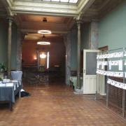 Salle Hèle encore vide