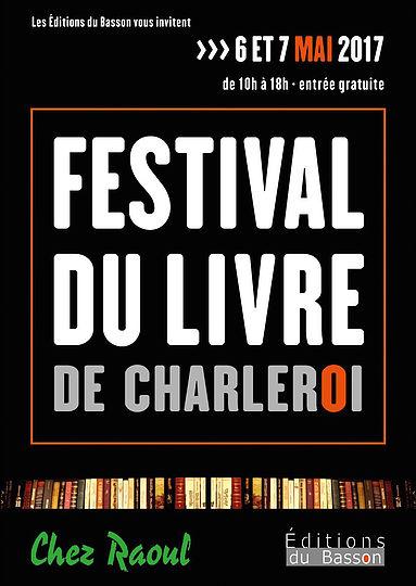 Festival livre charleroi